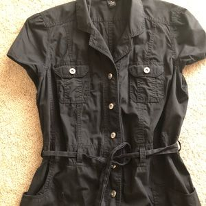 Style and Co Shirt Sleeved Jacket